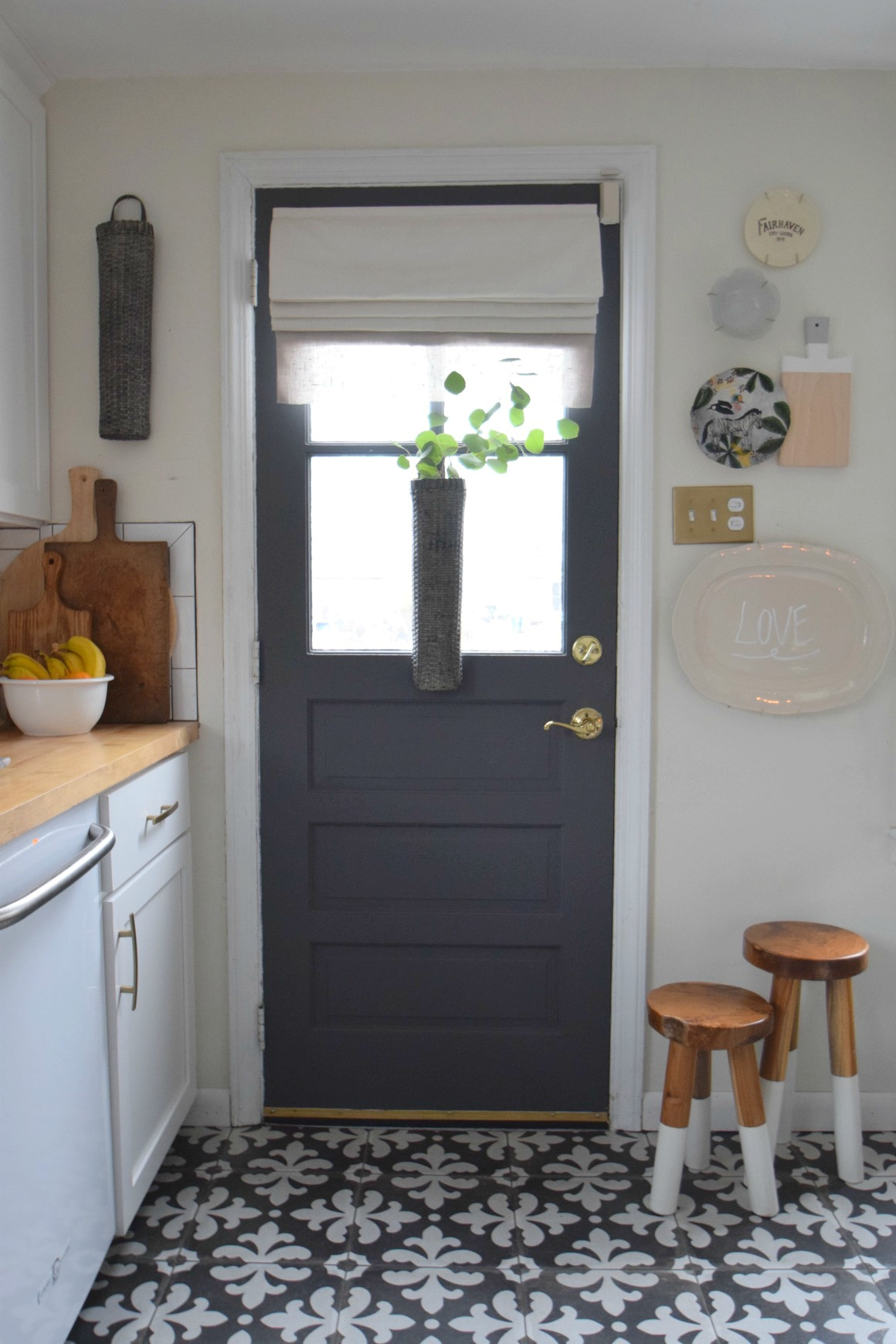 Gray Paints  For Interior Door