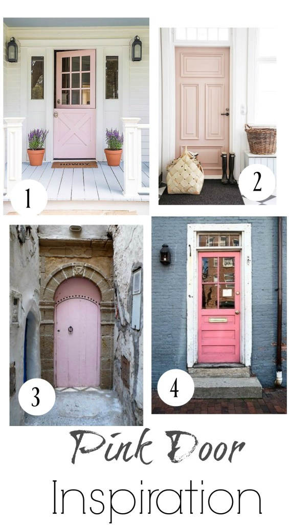 Pink Paint Favorite Painted Doors