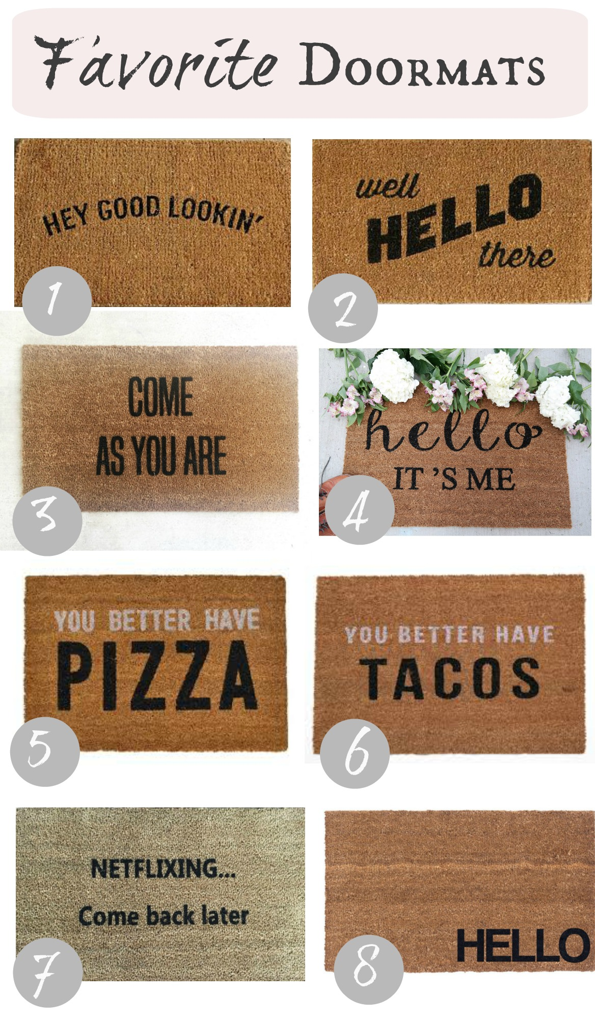 apartment door gift fullxfull hello il script listing font oh mat decor cute doormat mats housewarming calligraphy spring welcome