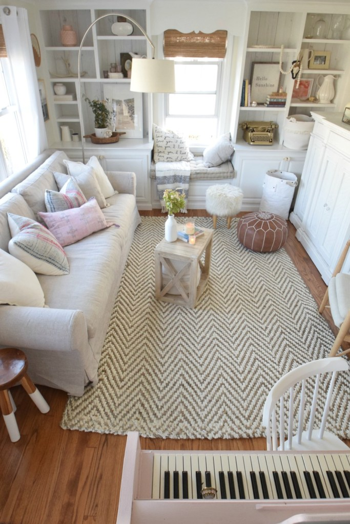 Living Room- Eclectic Beach Cape
