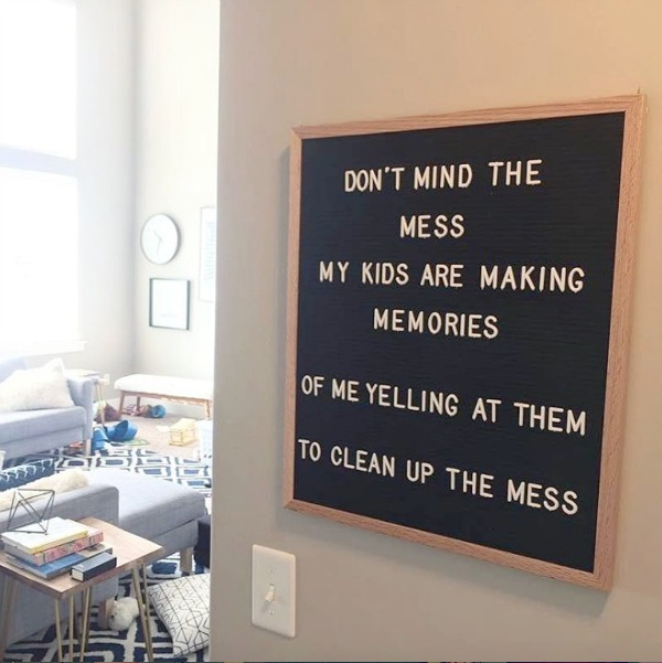 Letterboards,Are you funny enough to own one? , Nesting With