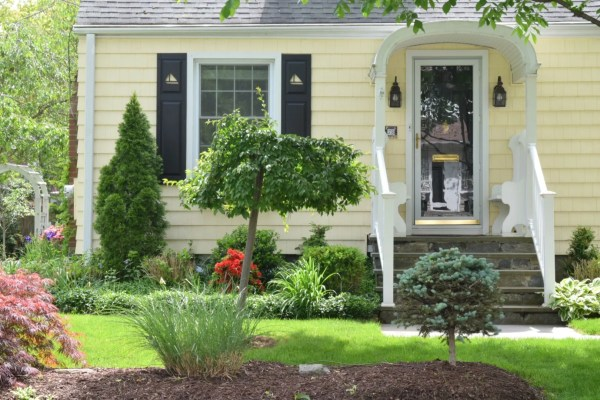 england homes- exterior paint