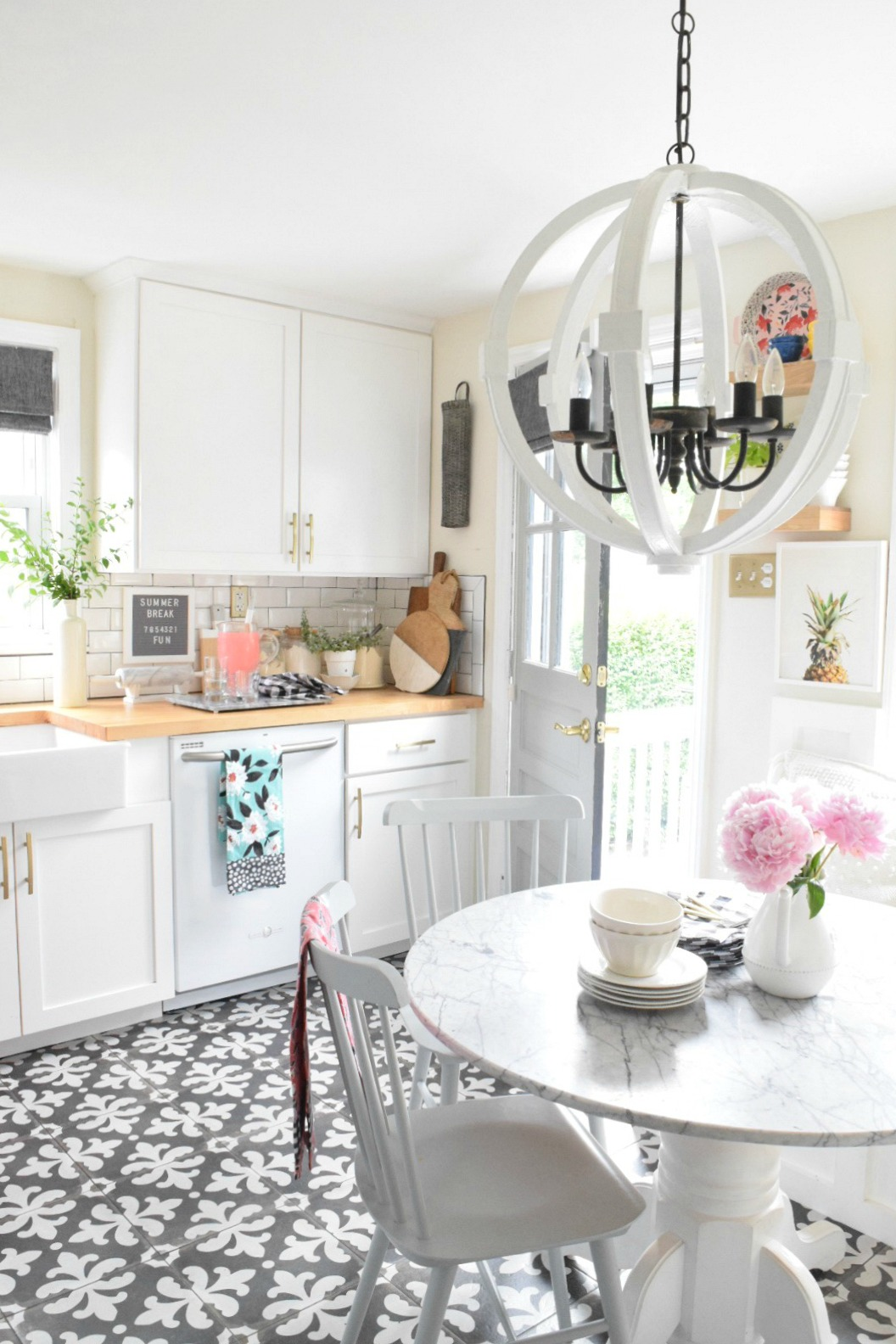 Summer Home Decor Ideas- Our Summer Tour 2017 - Nesting With ...