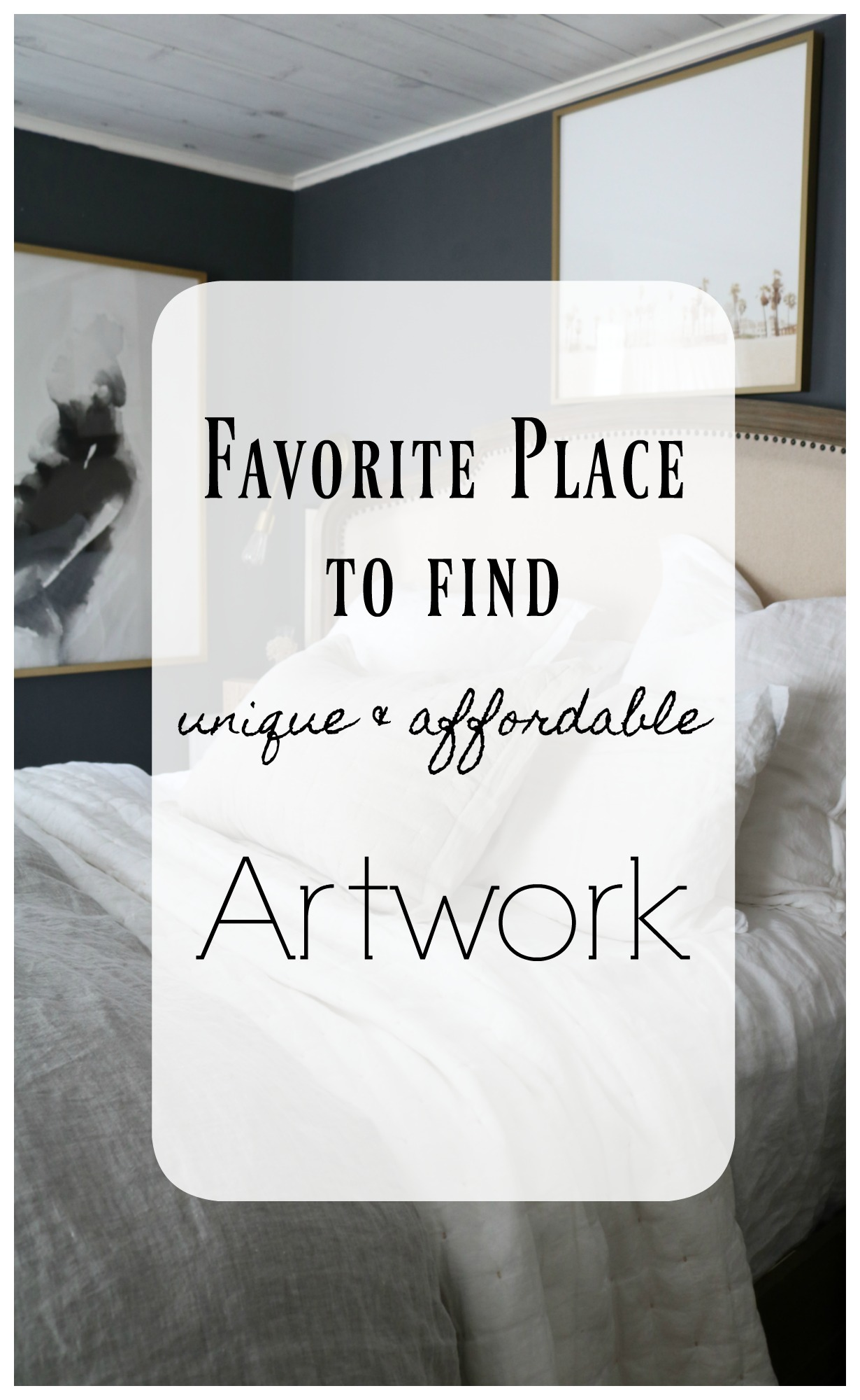 Favorite Place to find Unique and Affordable- Artwork