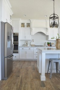 Take Home Designer Series- White Kitchen and Great Room ...