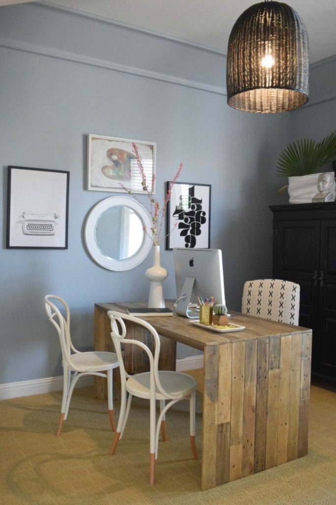 Before- Home Office and Gallery Wall Ideas