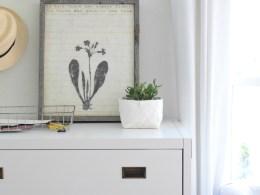 How I Maximized A Small Space with a Secretary Desk
