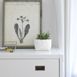 How I Maximized A Small Space with a Secretary Desk