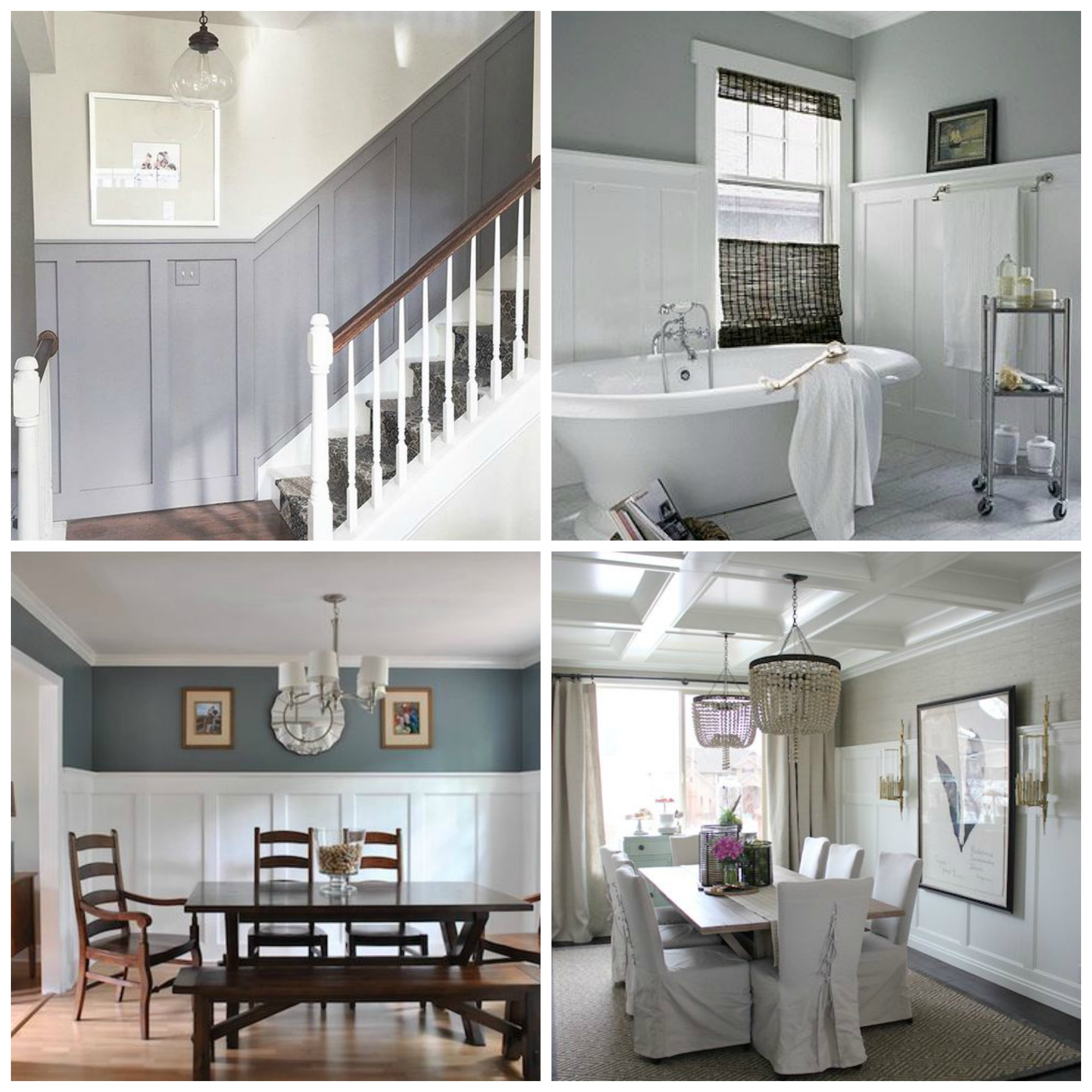 Wainscoting Walls- Where to hang art the DO's and Dont's