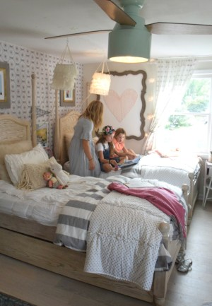 bedroom shared wall accent grace nesting nestingwithgrace
