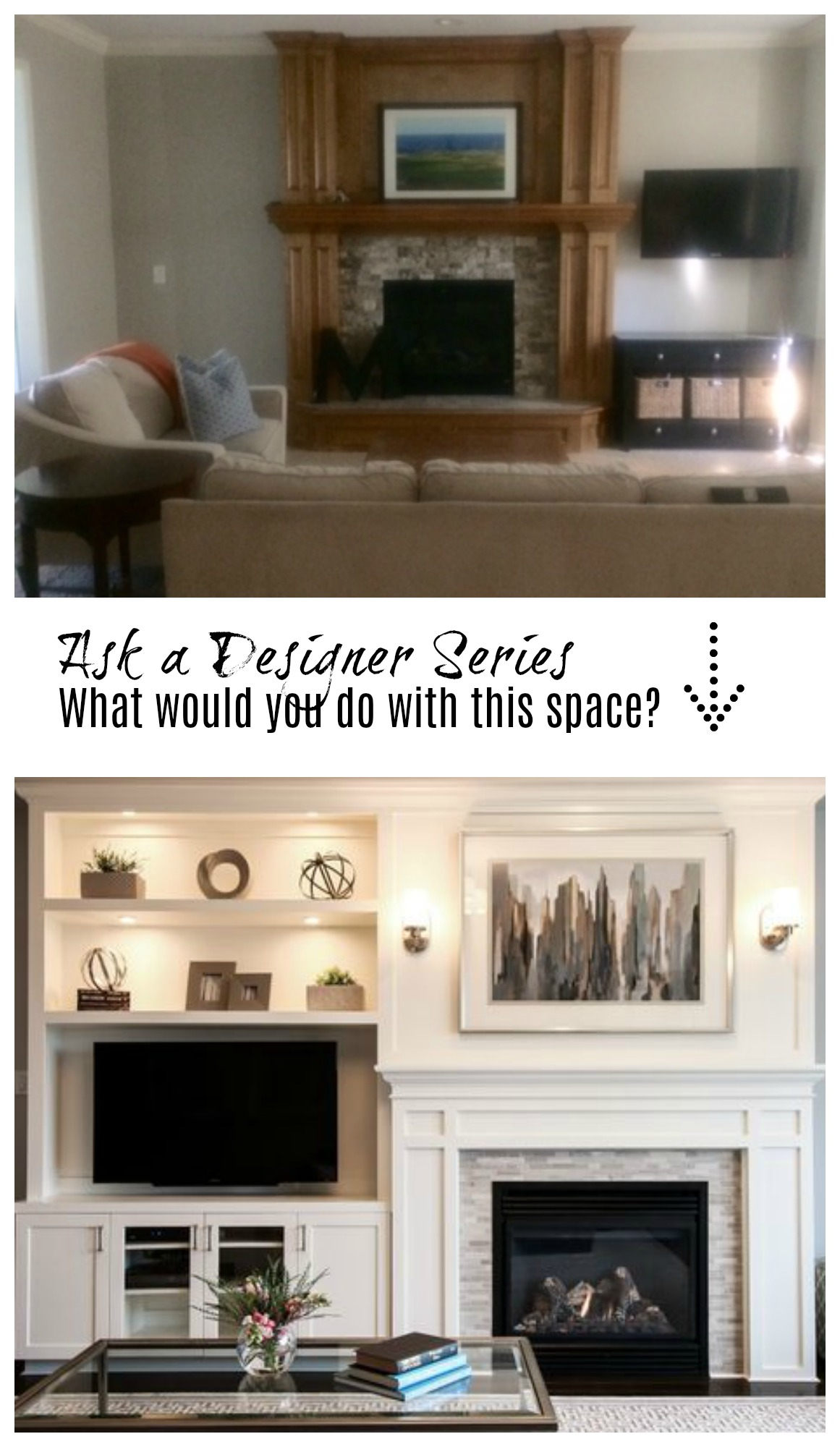 Ask A Designer Series Help With Fireplace Wall Girls Room