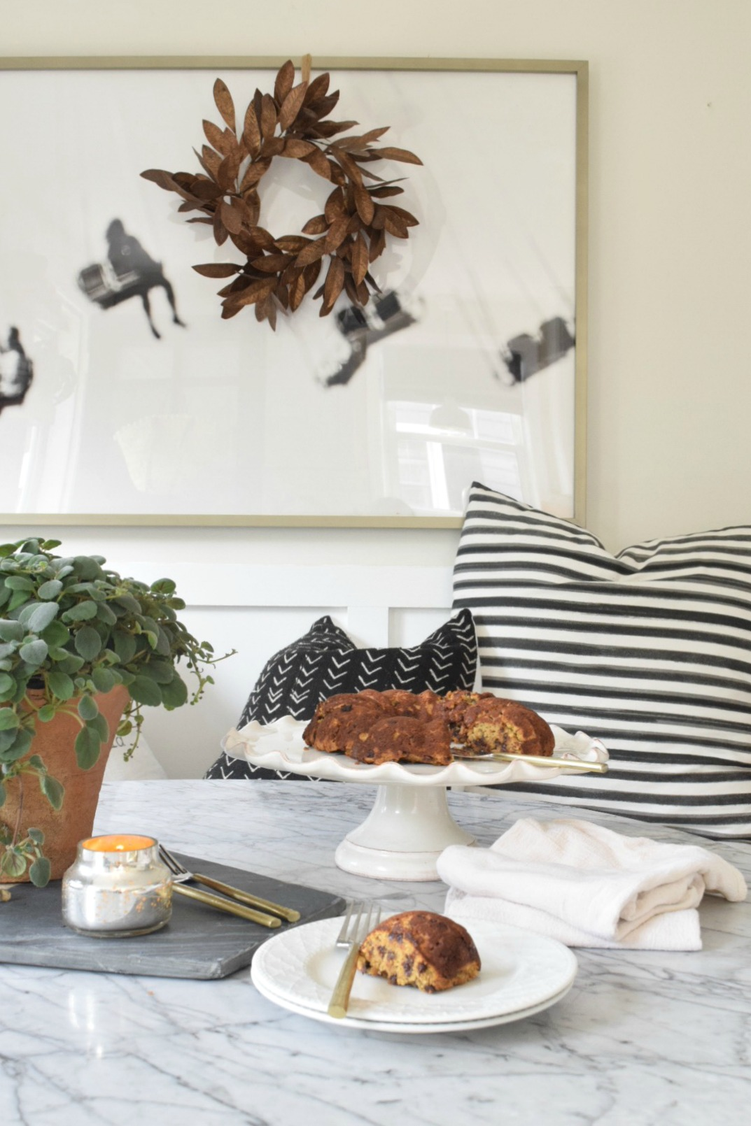 Fall Home Tour- Simple Fall Decor Changes in our Cape - Nesting With ...