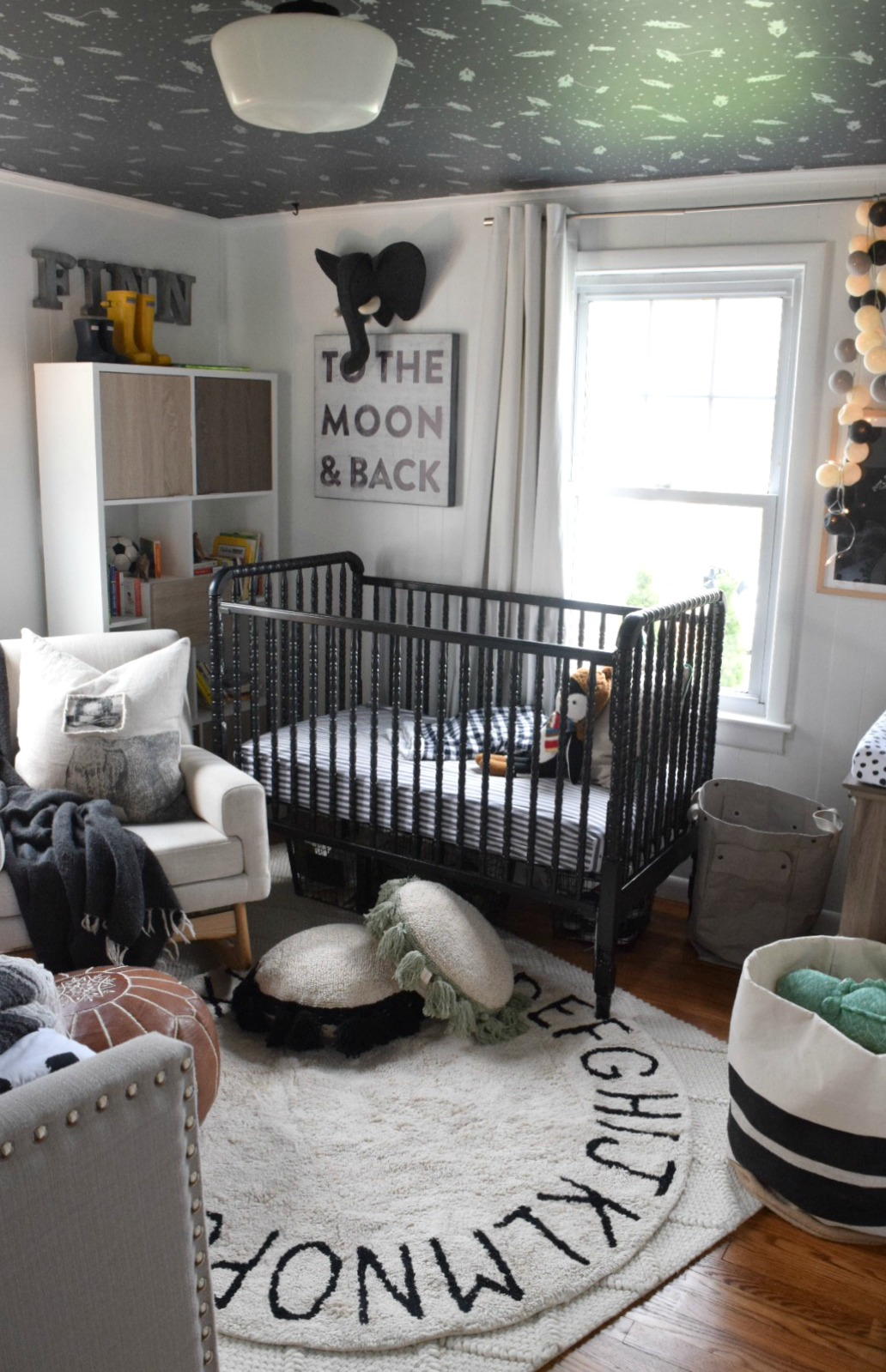 Home Decor Favorites- Washable Rug in Boys Nursery