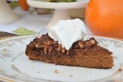 Paleo Pumpkin Crunch Cake