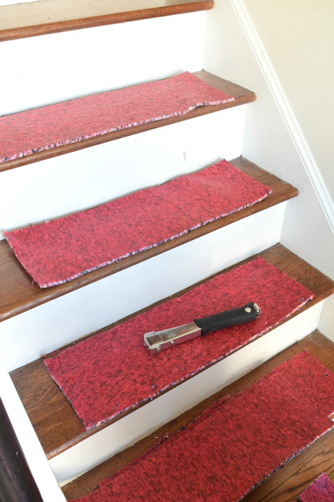 Learn From Our Mistakes When Installing A Stair Runner Nesting With Grace