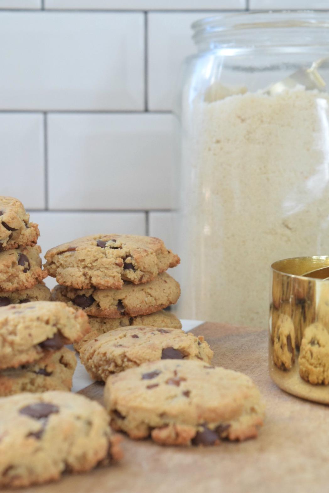 Paleo Chocolate Chip Cookies- My go-to Paleo Dessert