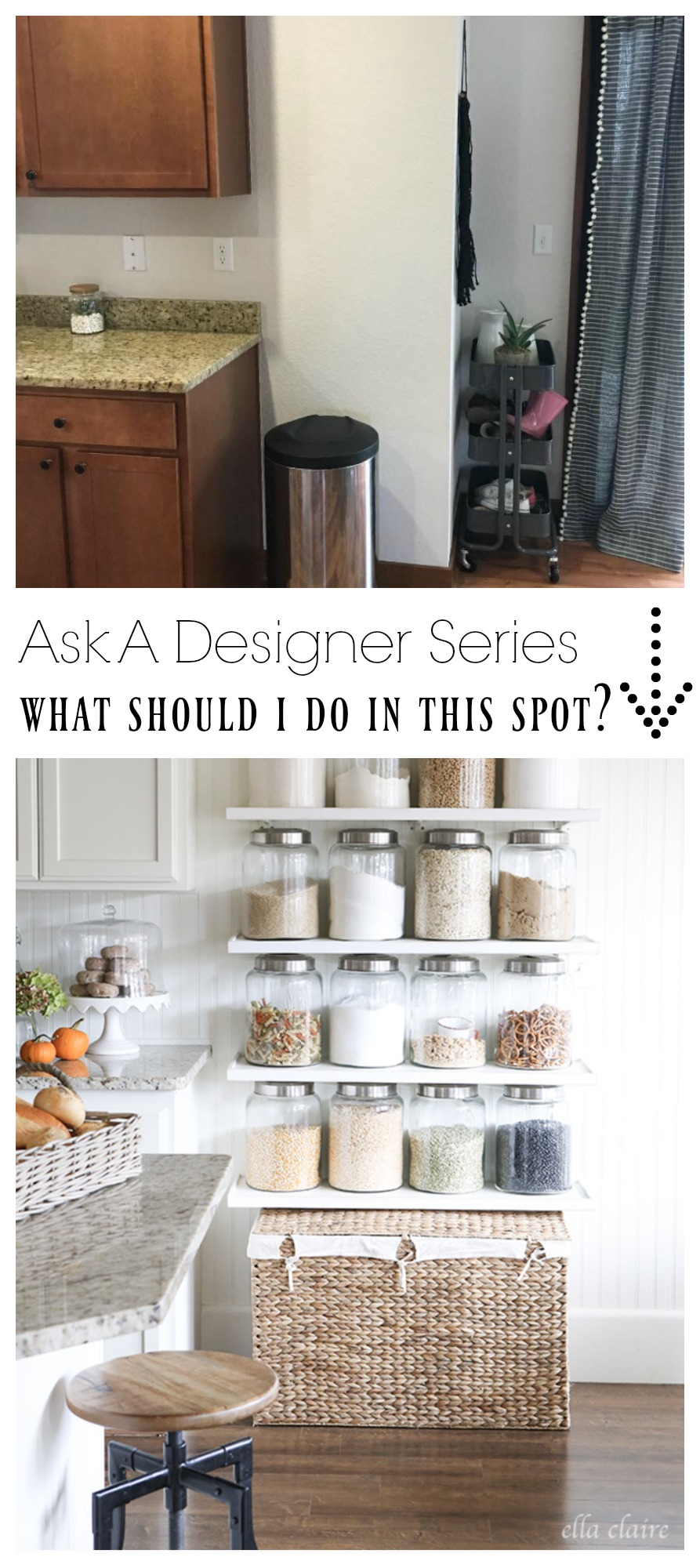 Ask a Designer Series- Should I do Open Kitchen Shelves?