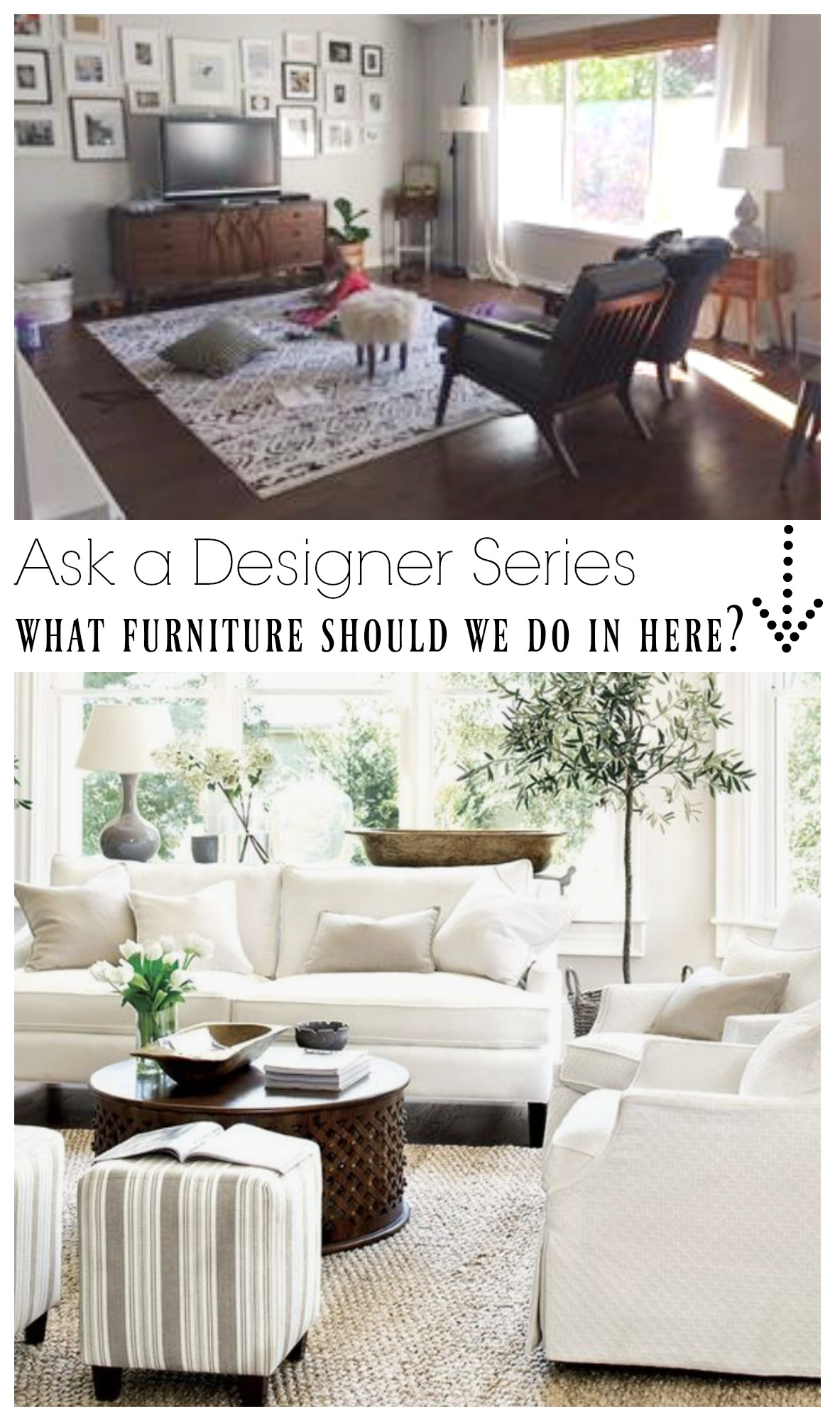 Ask a Designer Series- What should we do in our Family Room?