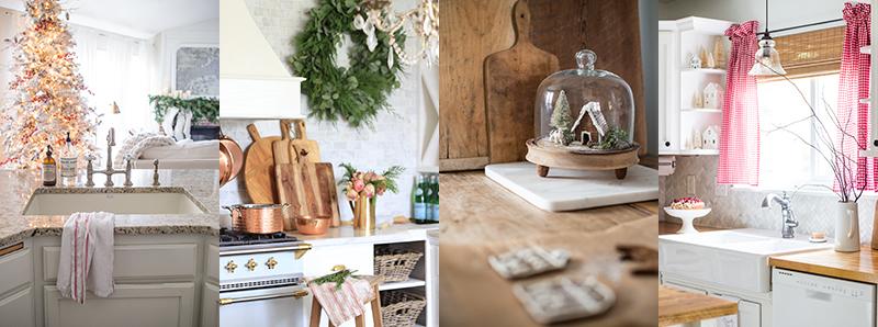 Christmas Decor- Kitchen Home Tour