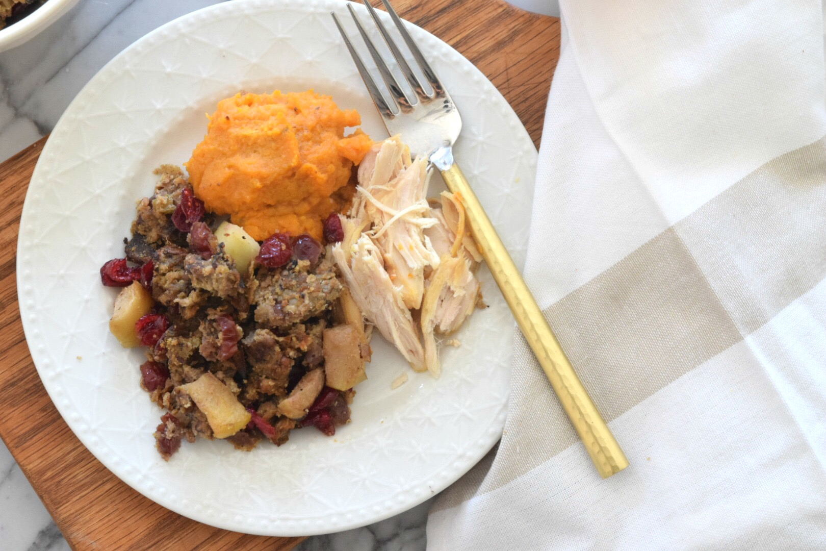 Paleo and Gluten Free Stuffing- Thanksgiving Side Dish