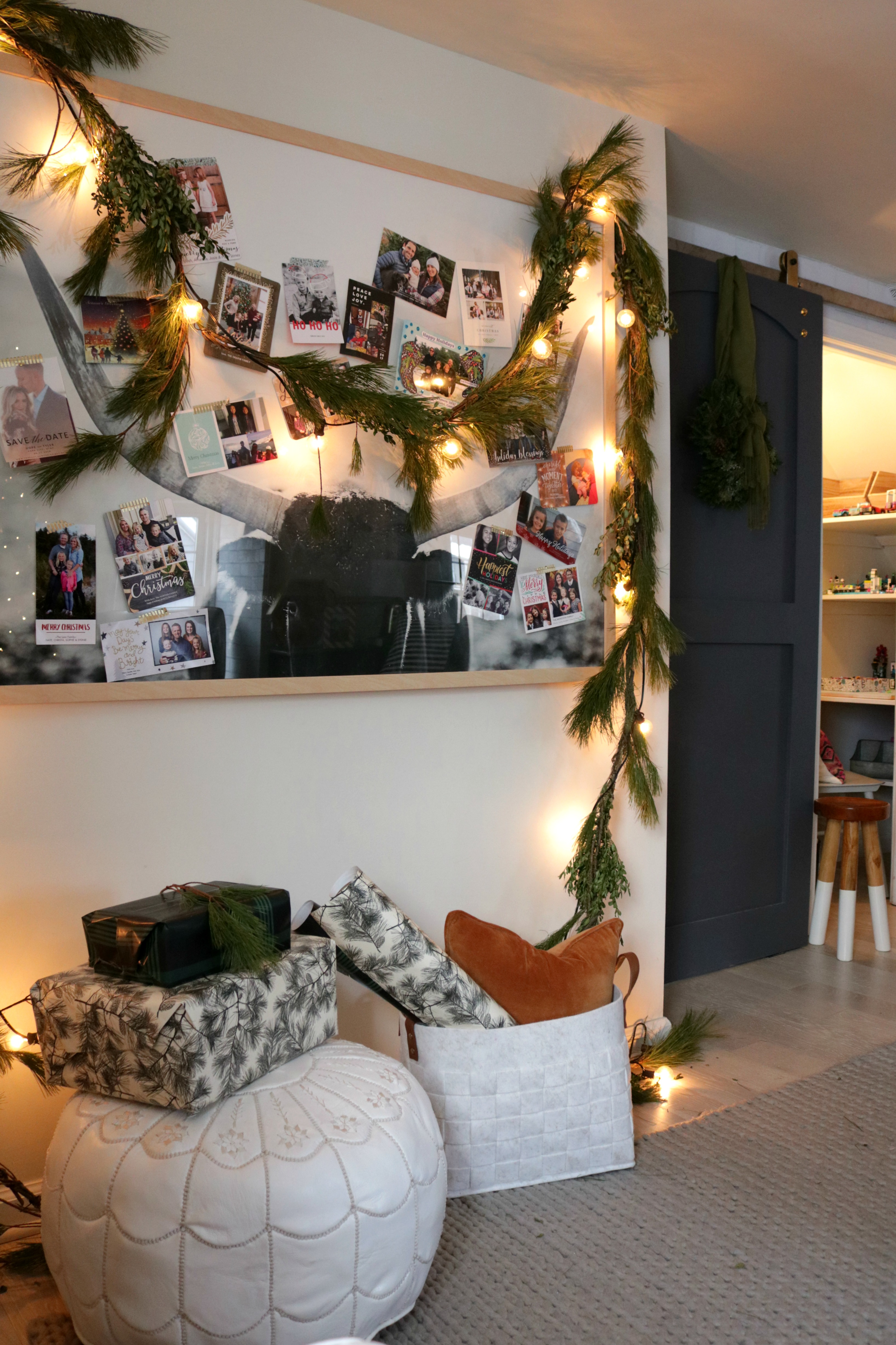 30 Ways to Display your Christmas Cards