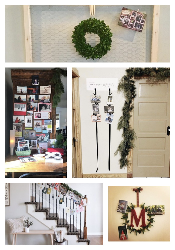 35 Ideas to Display Christmas Cards and our Cards this Year ...