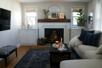 Fireplace Makeover- and Styled with Decor from Target ...