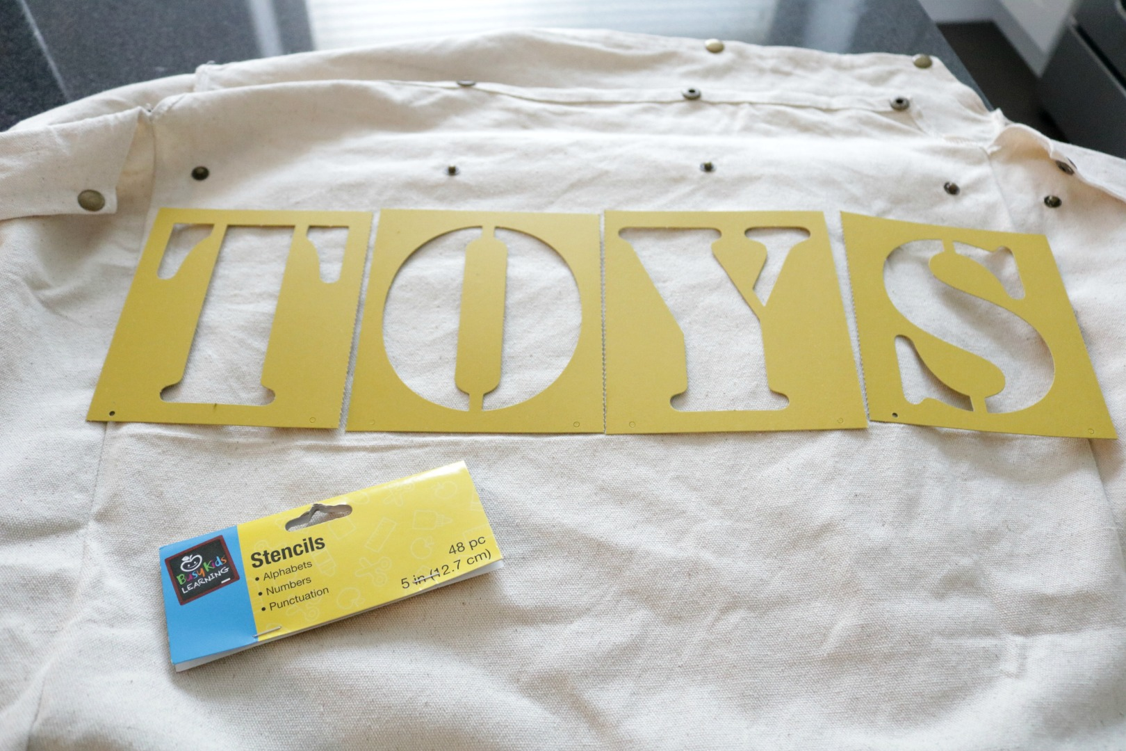 DIY Toy Storage- Hamper Knock- Off