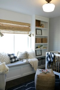 How to Build a Window Seat and Built-In Bookcase Tutorial ...