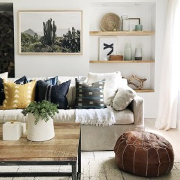 "How to Mix Color and Patterns with Pillows- The Pillow ""Rules"""