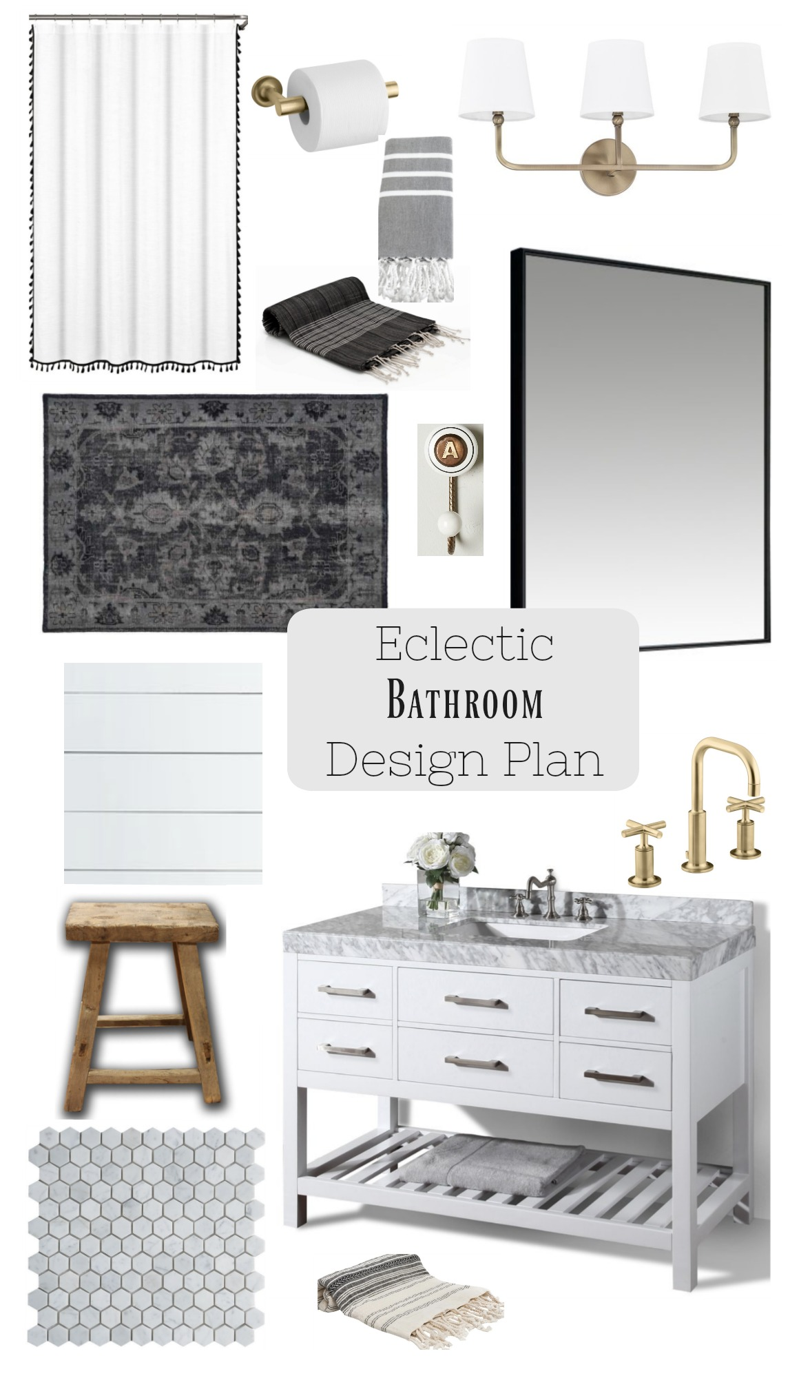 Bathroom (upstairs) Design Plan, Before and Inspiration - Nesting ...