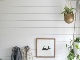 AZEK- The BEST Shiplap look in a Bathroom