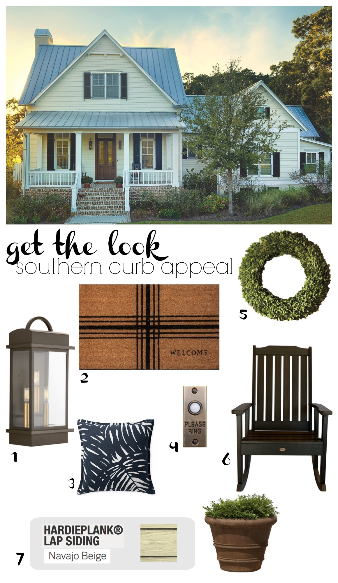 Get the Look- Southern Curb Appeal- Navajo Beige