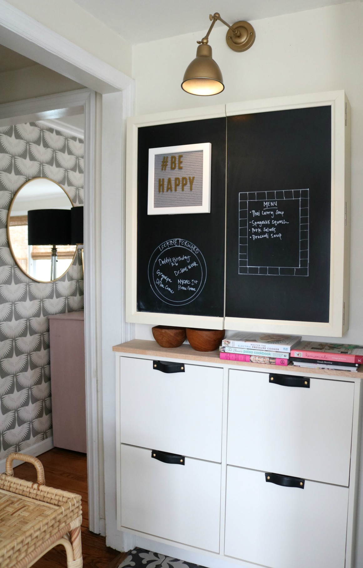 IKEA Hack- Stall Cabinet in a Small Kitchen & STALL IKEA HACK- Small Space Solution in our Kitchen - Nesting With ...
