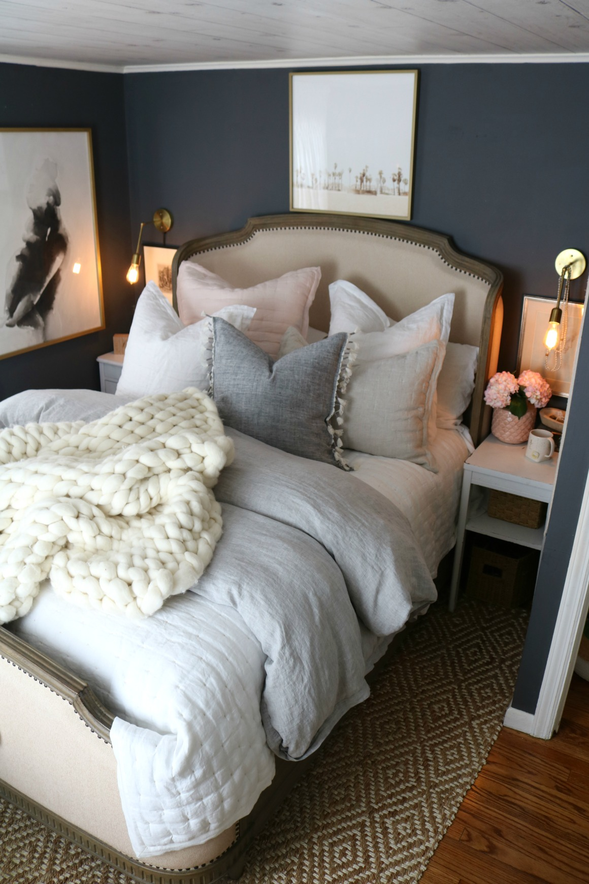 how to make your bedding fluffy and our new bedding 12253 | master bedroom bedding how to make your bedding look fluffy 999