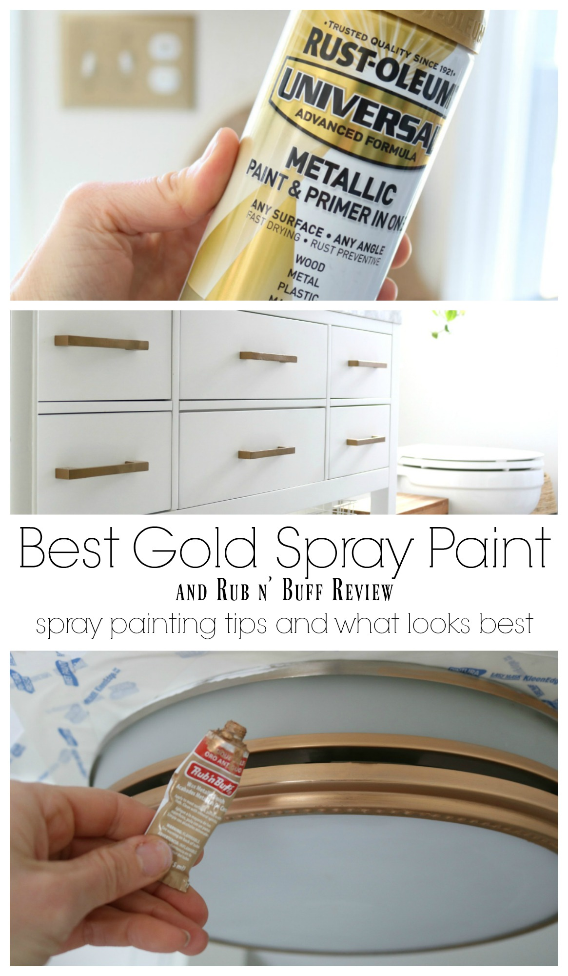 Favorite Spray Paint And Rub N Buff Experience Nesting