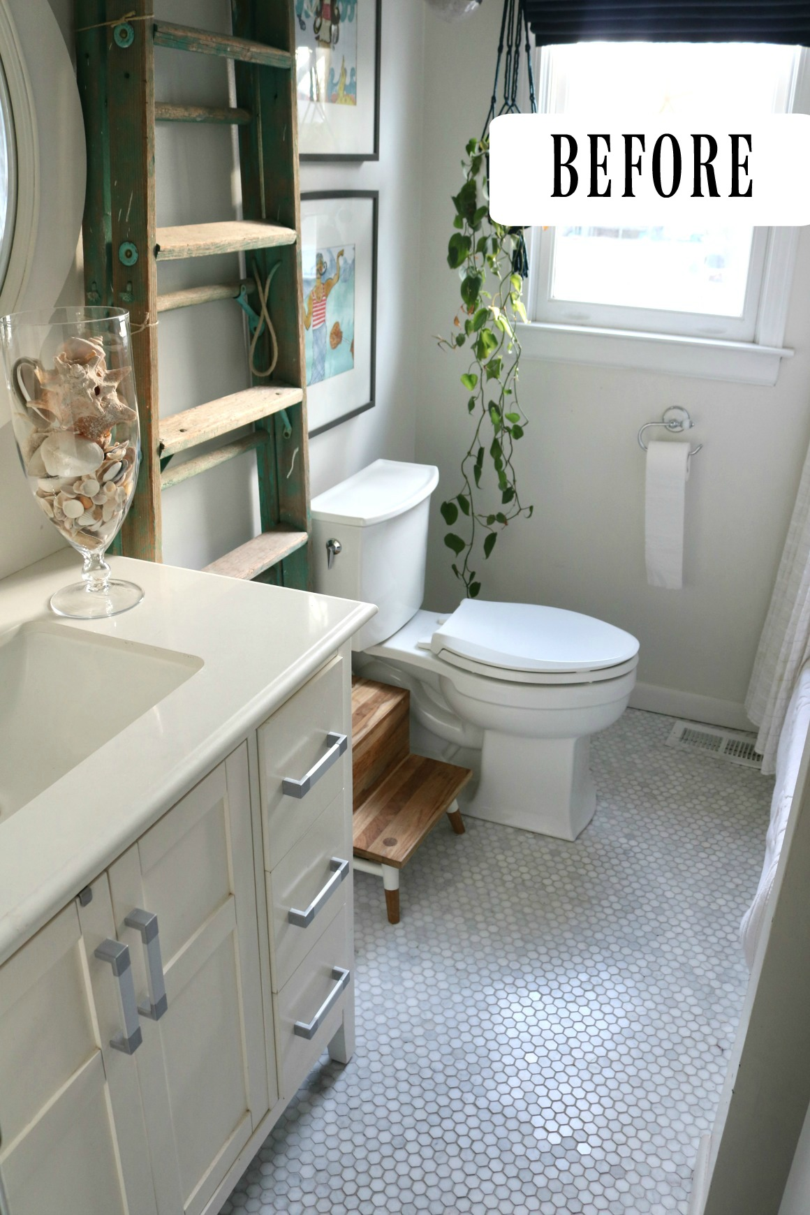 Upstairs Bathroom Remodel- The Reveal!