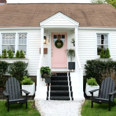 Front Exterior Reveal with new Cedar Impressions