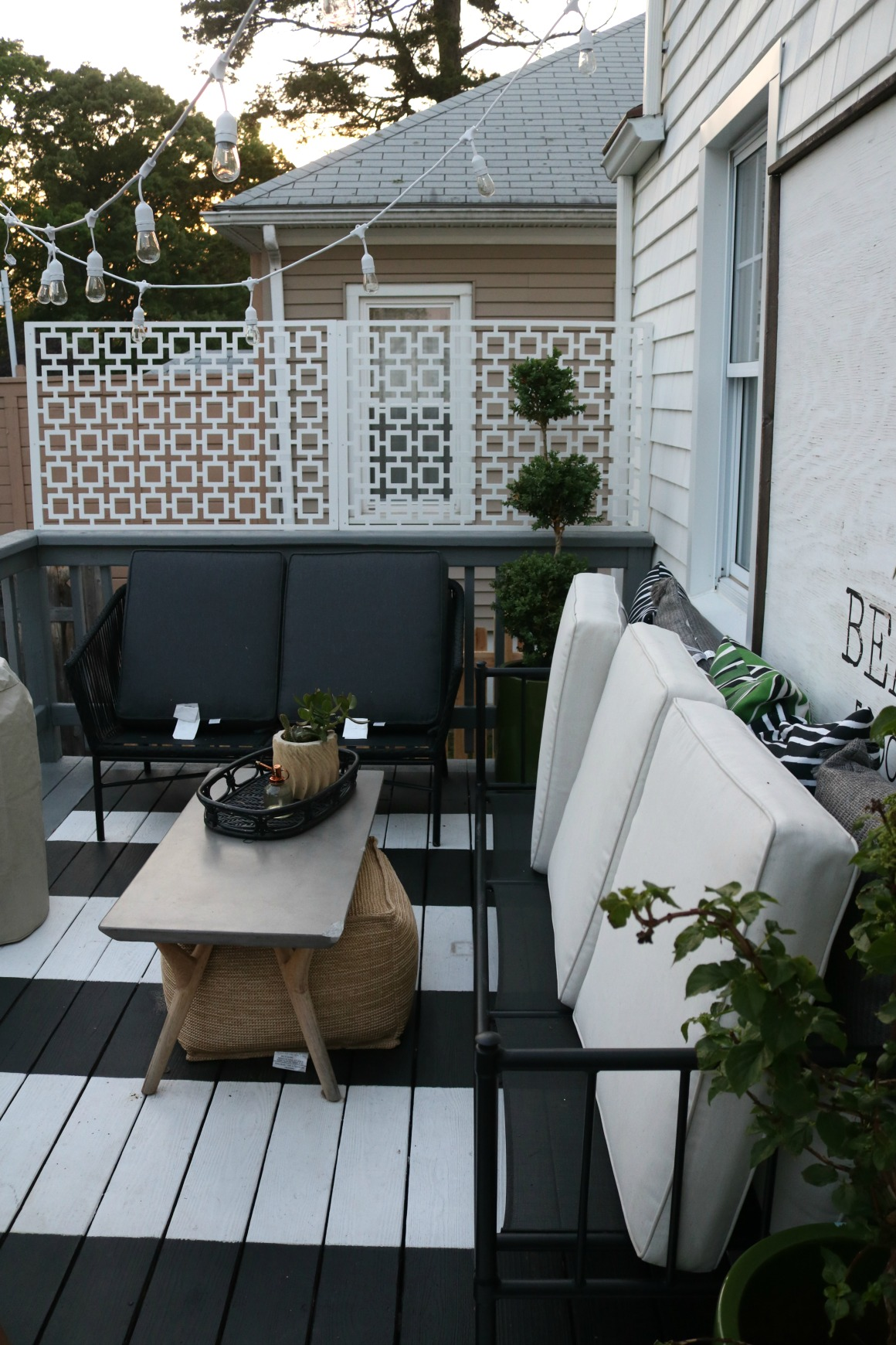 How we Clean and Protect our Outdoor Cushions