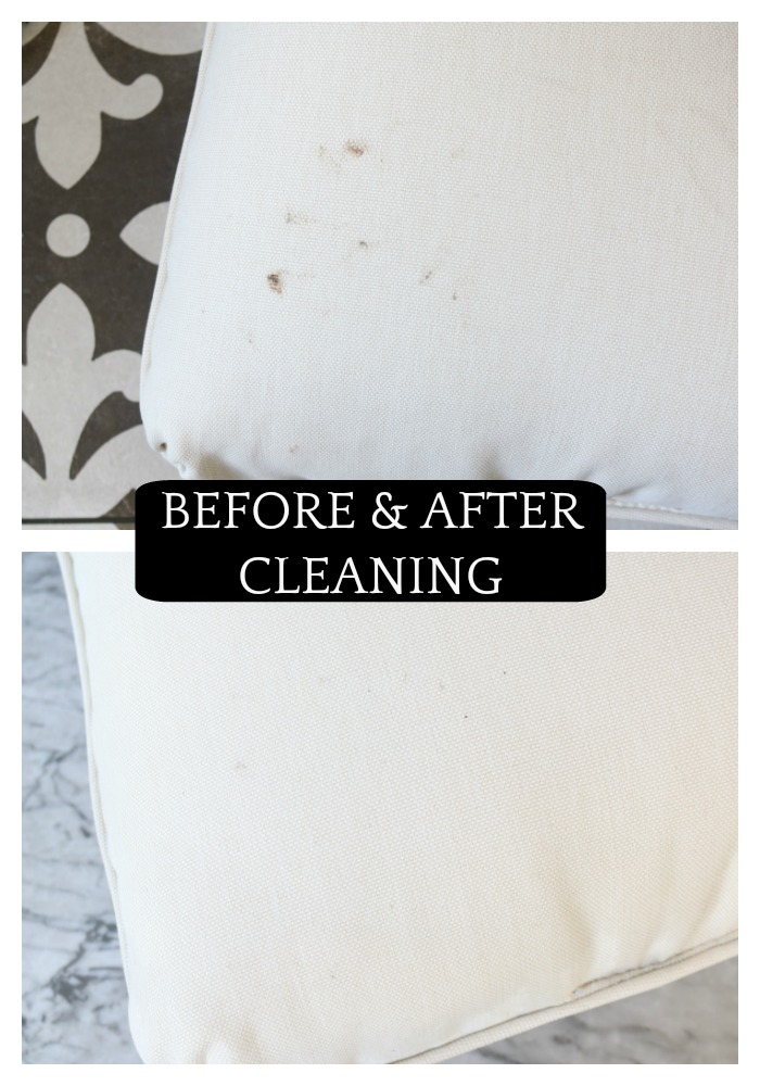 How We Clean Our Outdoor Cushions Indoor Cushions And