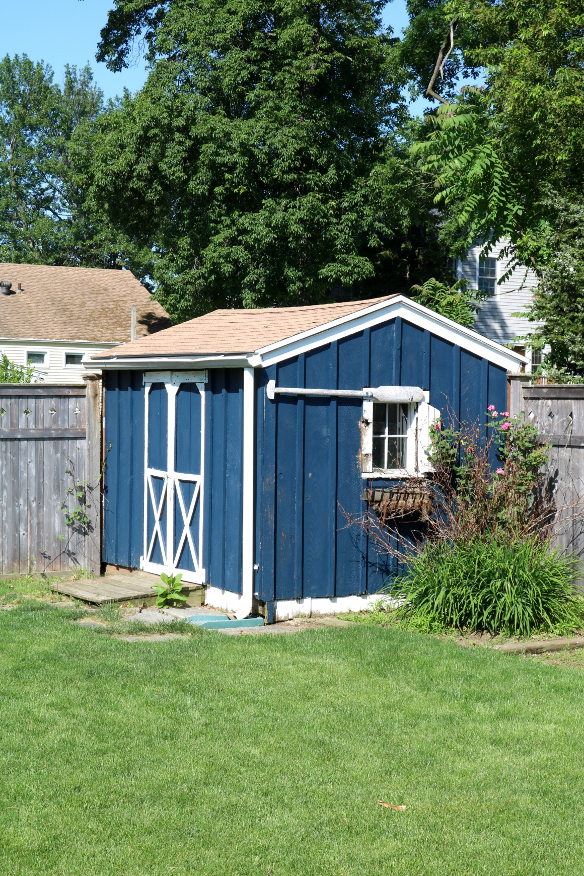 200 Black Shed Exterior Makeover Nesting With Grace