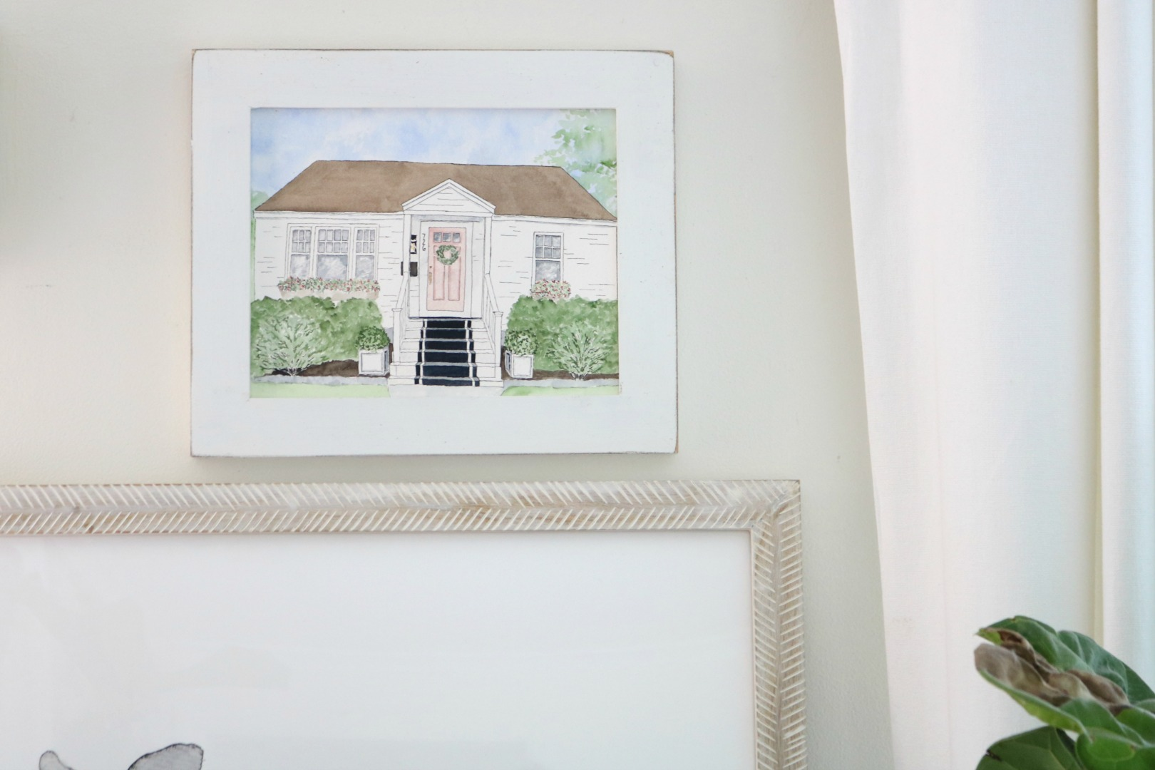 Custom Art- Painting of YOUR Home