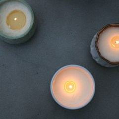 Easiest Way to Make Candles- Non Toxic and Natural