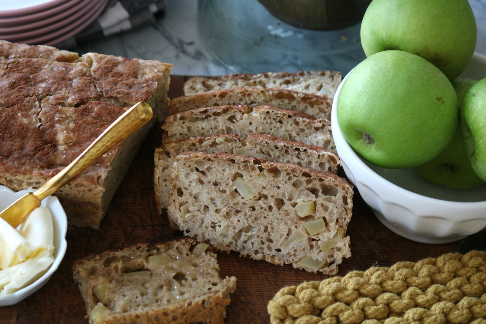 Apple Bread Recipe with Fall Printable