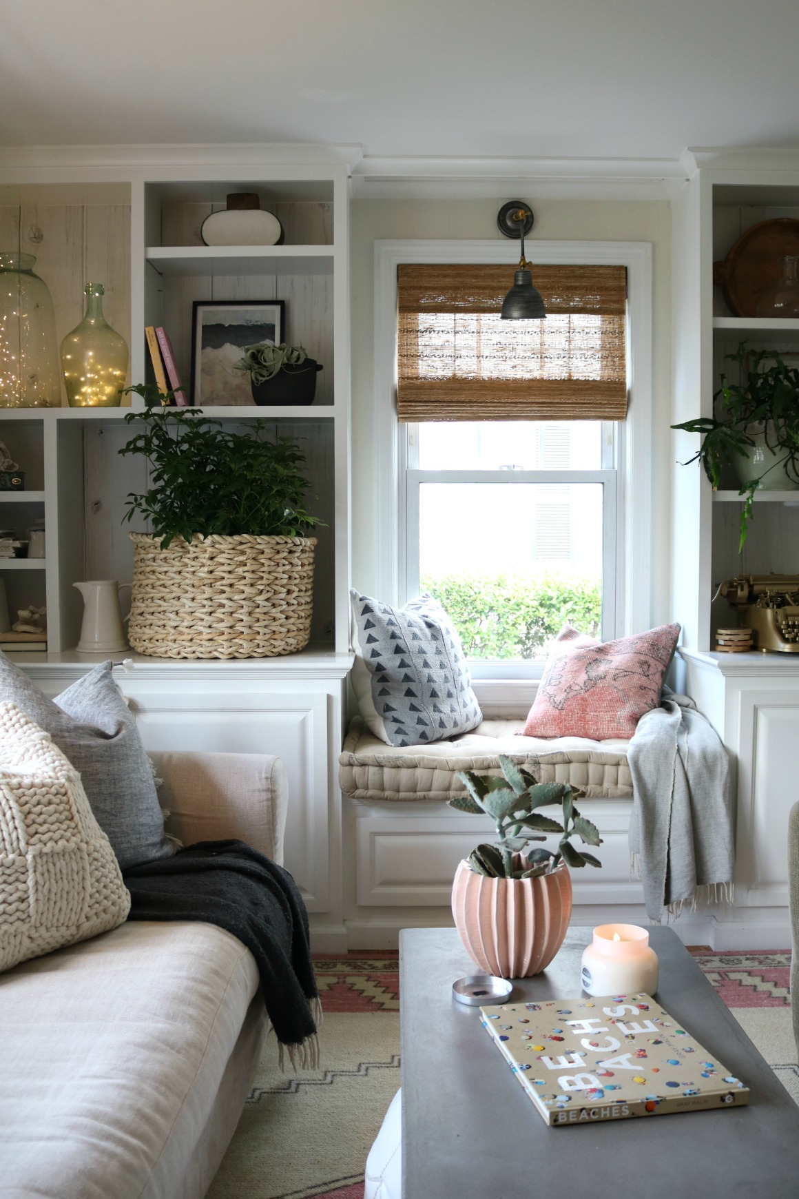 Bamboo and Fabric Roman Shades- Complete Source Guide