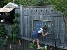 DIY Chalkboard- Easy Tutorial