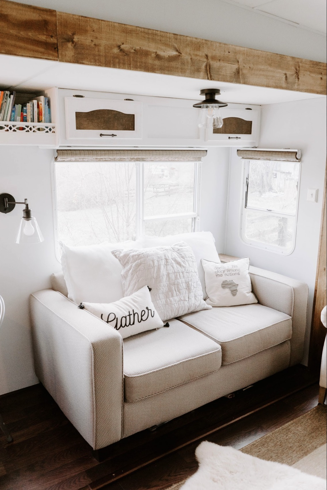 Small Space Living Feature You Wont Believe This Rv Nesting