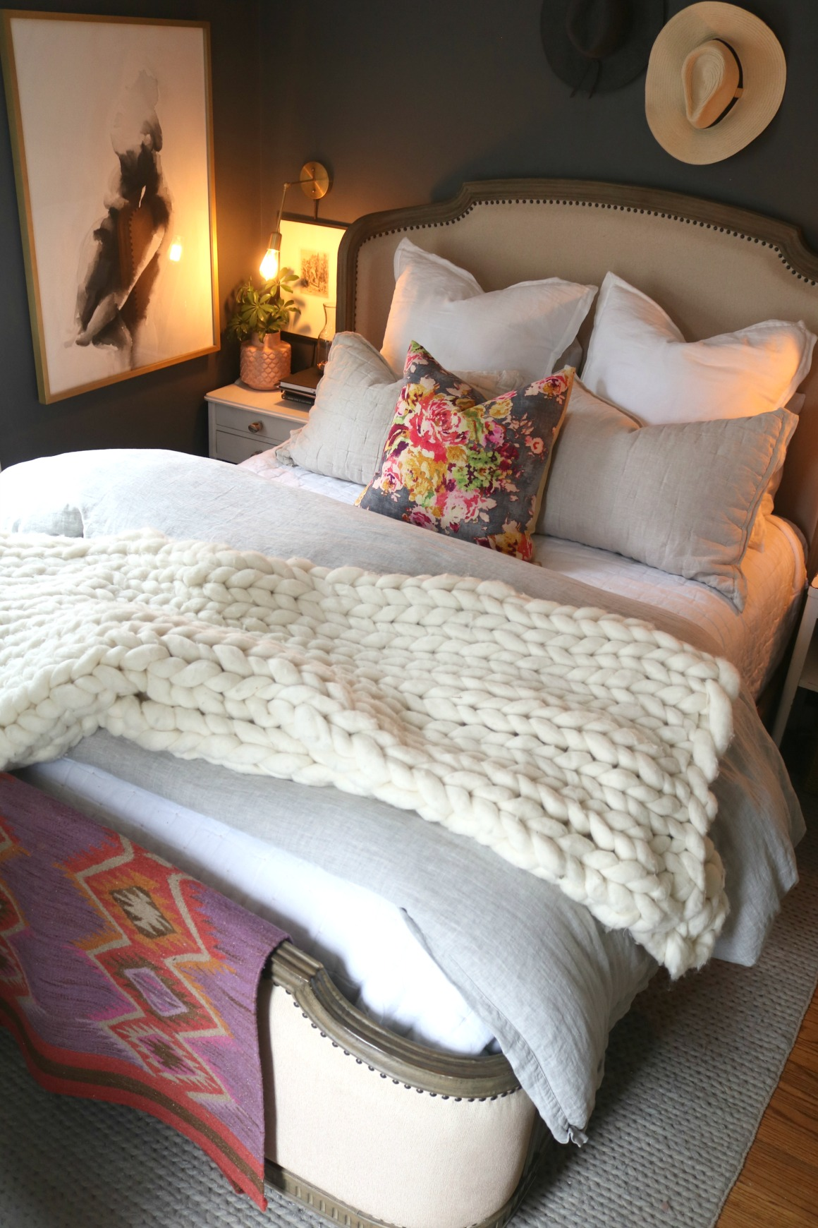 Fall Decor Ideas- Master Bedroom