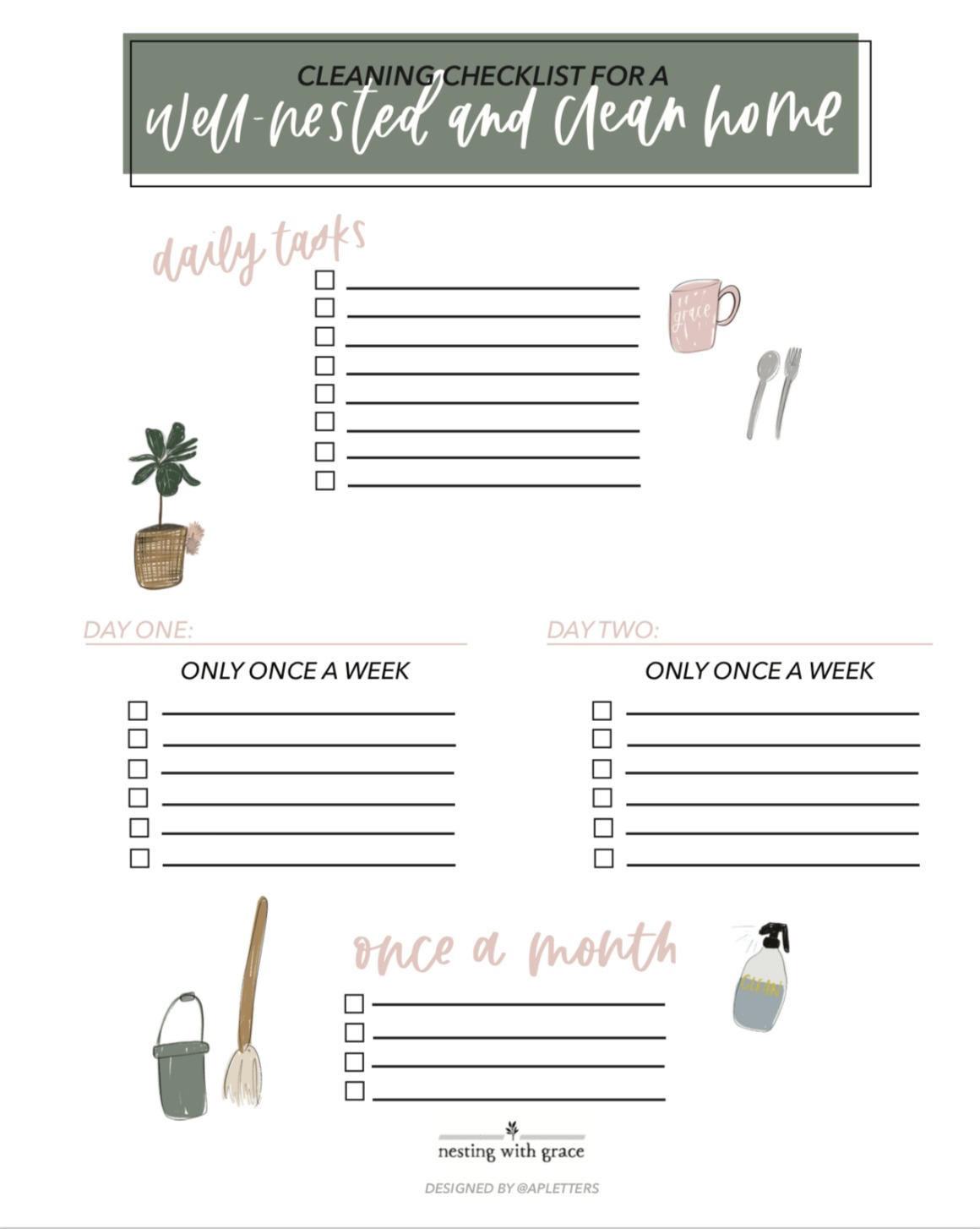 photo regarding Printable Cleaning Checklist named Cleansing Plan- Absolutely free Printable and our fresh new Vacuum