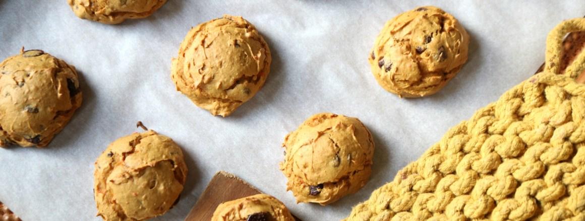 Easiest Pumpkin Cookies- Four Ways- Gluten Free Option